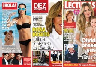 Las portadas de las revistas del coraz�n a 13/01/2016