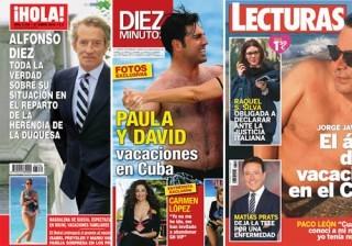 Las portadas de las revistas del coraz�n a 20/01/2016