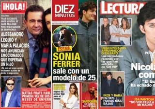 Fotos Las portadas de las revistas del coraz�n a 27/01/2016 width=