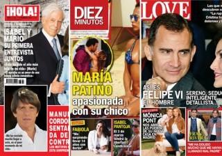 Las portadas de las revistas del coraz�n a 03/02/2016