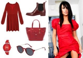 Tendencias moda en rojo pasi�n para San Valent�n: seduce con el �total look red�