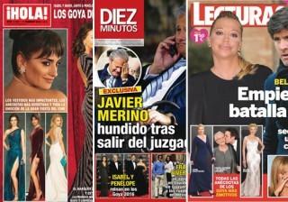 Las portadas de las revistas del coraz�n a 10/02/2016