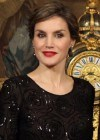 Letizia Ortiz seduce con sus labios rojo pasi�n al nuevo presidente de Portugal
