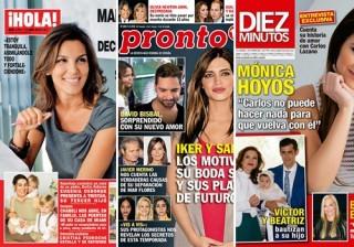 Las portadas de las revistas del coraz�n a 06/04/2016