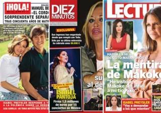 Las portadas de las revistas del coraz�n a 13/04/2016