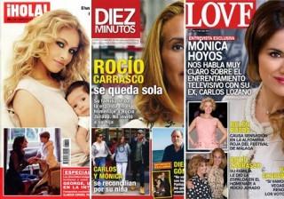 Fotos Las portadas de las revistas del coraz�n a 27/04/2016 width=