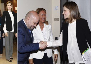Letizia Ortiz, una Reina con look premam�