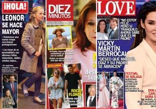 Las portadas de las revistas del coraz�n a 04/05/2016