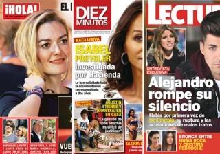 Las portadas de las revistas del coraz�n a 11/05/2016