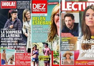 Las portadas de las revistas del coraz�n a 18/05/2016
