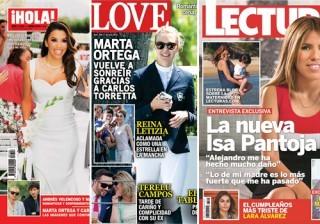 Las portadas de las revistas del coraz�n a 25/05/2016