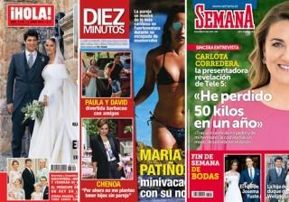 Las portadas de las revistas del coraz�n a 01/06/2016
