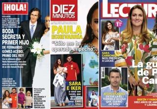 Las portadas de las revistas del coraz�n a 08/06/2016