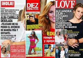 Las portadas de las revistas del coraz�n a 15/06/2016