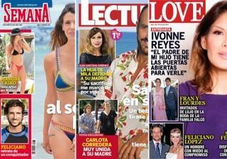 Las portadas de las revistas del coraz�n a 22/06/2016