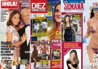 Las portadas de las revistas del coraz�n a 29/06/2016