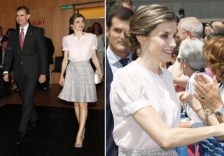 Letizia Ortiz inunda Pamplona de romanticismo y dulzura
