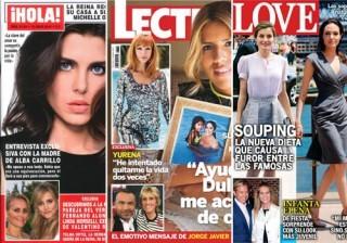 Las portadas de las revistas del coraz�n a 06/07/2016
