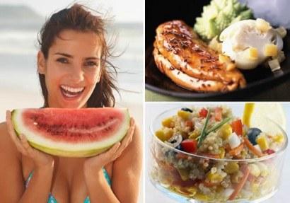 Los alimentos del verano para perder peso y ganar salud