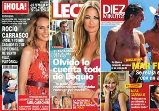 Las portadas de las revistas del coraz�n a 13/07/2016