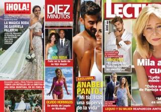 Las portadas de las revistas del coraz�n a 20/07/2016