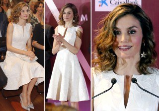 Letizia Ortiz brilla con un Carolina Herrera en los Premios FEDEPE 2016