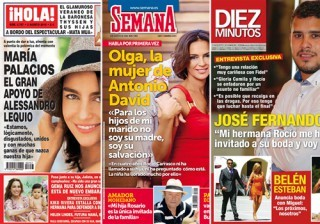 Las portadas de las revistas del coraz�n a 27/07/2016