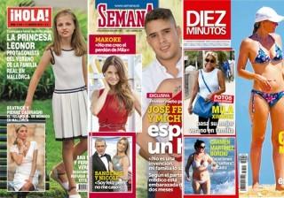 Las portadas de las revistas del coraz�n a 10/08/2016