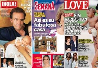 Fotos Las portadas de las revistas del coraz�n a 24/08/2016 width=
