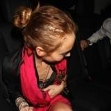 Lindsay Lohan con extensiones