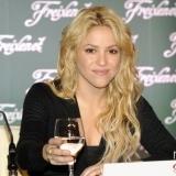 Shakira y su famoso pelo rizado