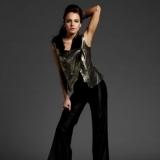 Lindsay Lohan y sus pantalones negros