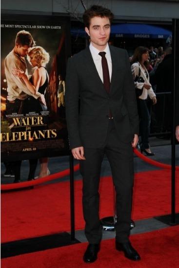 Robert Pattinson, en la premiere de Agua para Elefantes