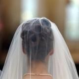 Peinados de novia: recogido alto