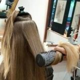 Paso 3 mechas californianas: lavar, aclarar y peinar el cabello