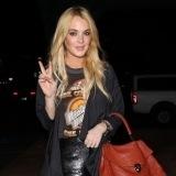 Lindsay Lohan te�ida de rubio