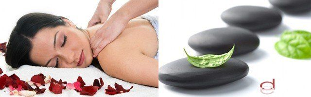Masaje de espalda en cinco pasos