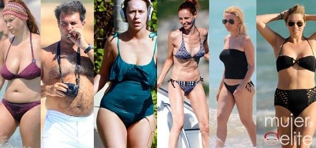 Los peores cuerpos en bañador de los famosos este verano