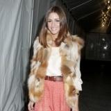 Olivia Palermo ha convertido la falda larga en su prenda clave