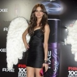 Romina Belluscio asisti� a los Premios FHM