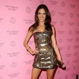 Alessandra Ambrosio en un evento de Victoria�s Secret
