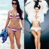 Kim Kardashian y sus sensuales curvas