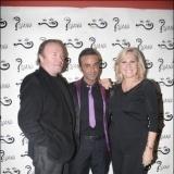 Rosa Benito con Luis Roll�n y Amador Mohedano