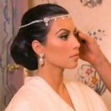 Kim Kardashian utiliz� un maquillaje natural para resaltar su mirada
