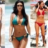 Halle Berry, Kim Kardashian, Carolina Cerezuela, Malena Costa y Paula Echevarr�a