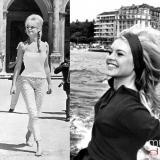 Brigitte Bardot, con peinado colmena
