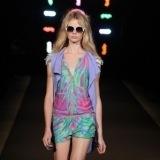 Custo Barcelona apuesta por los motivos geom�tricos en la New York Fashion Week