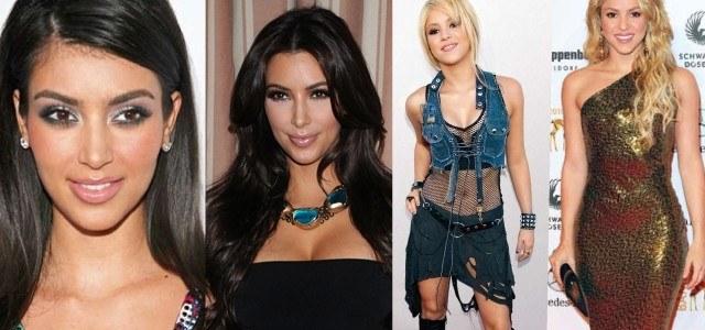Shakira y Kim Kardashian, tan guapas como hace a�os