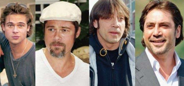 Javier Bardem y Brad Pitt: �dos guapetones de siempre!