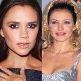 Asombroso cambio de Victoria Beckham y Cameron D�az